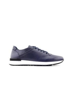 Libero Erkek Lacivert Hakiki Deri Günlük Ayakkabı 3045
