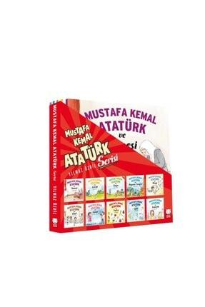 Kırmızı Kedi Yayınevi Mustafa Kemal Atatürk Serisi (10 Kitap)
