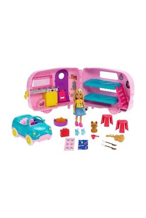 Barbie Chelsea'nin Karavanı