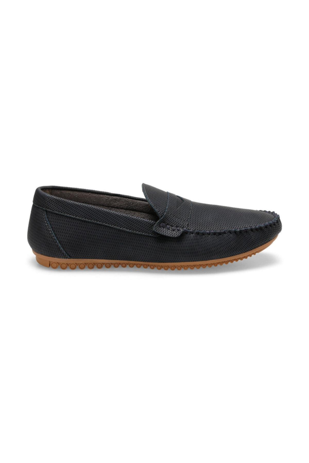 OXIDE MDL2 C Lacivert Erkek Loafer Ayakkabı 100349388 1