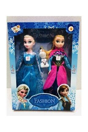 Disney Frozen Karlar Ülkesi Elsa Anna Ve Olaf Şarkı Söyleyen Oyuncak Bebek 27.5 Cm