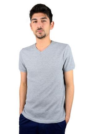 Mcr T-shirt Düz Renk Kare Model 36010