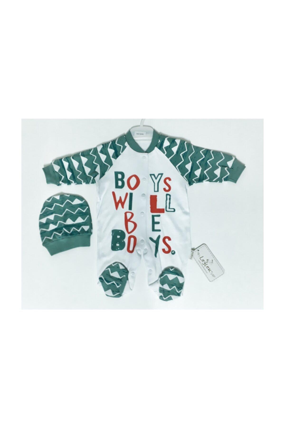 Kids Leylek Baby Wear Boys 2'li Tulum Yeşil 1