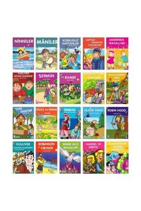 Timaş Yayınları Timaş 2. Ve 3. Sınıflar Için Çocuk Klasikleri Seti 20 Kitap