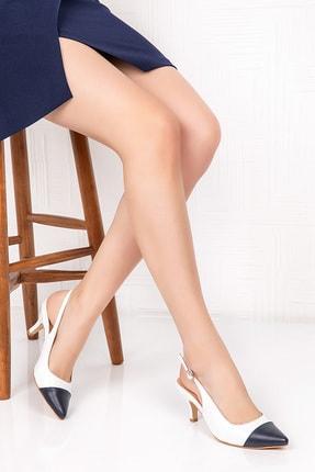 Gondol Hakiki Deri Klasik Topuklu Ayakkabı