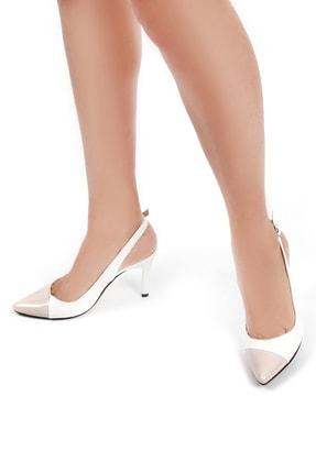 Gökhan Talay Beyaz Kadın Klasik Topuklu Ayakkabı 17600203