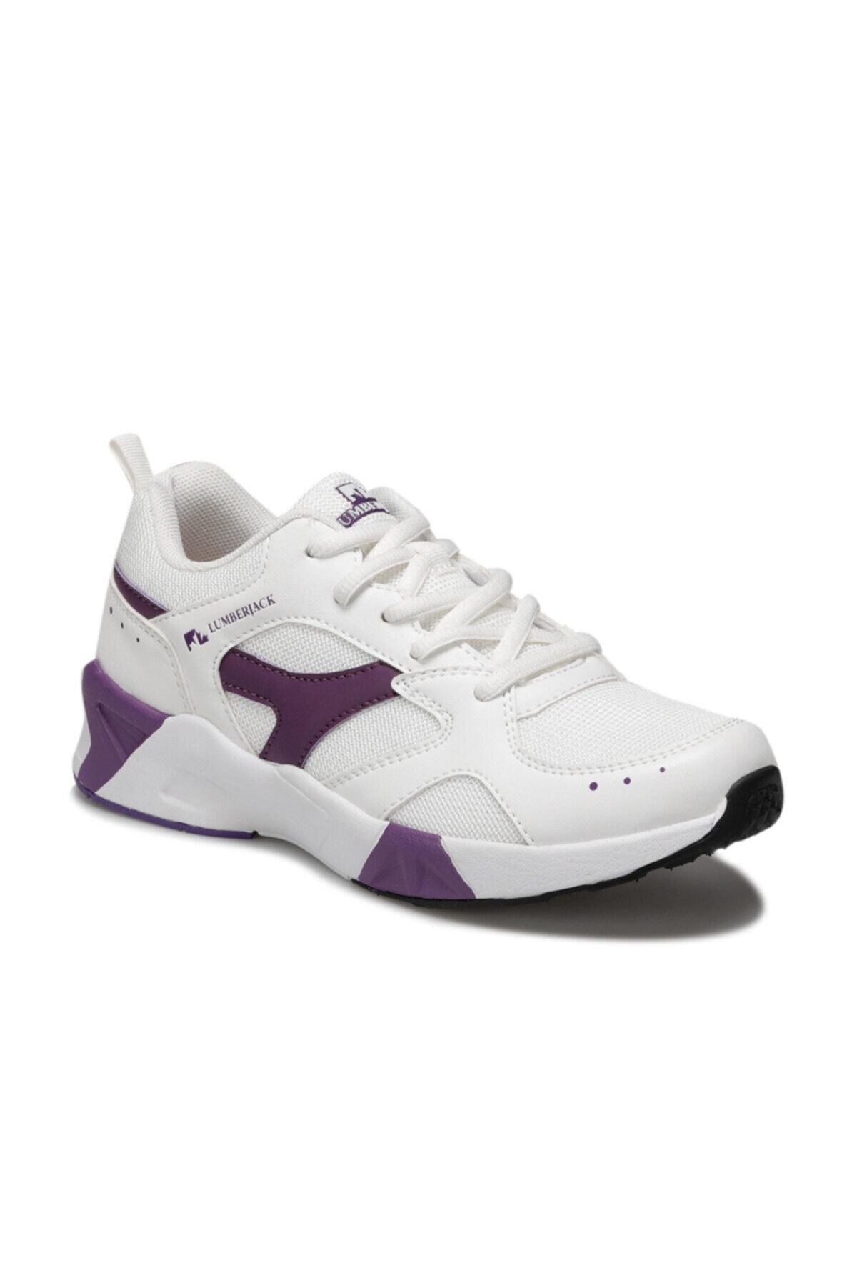 lumberjack Blossom Beyaz Kadın Sneaker Ayakkabı 1