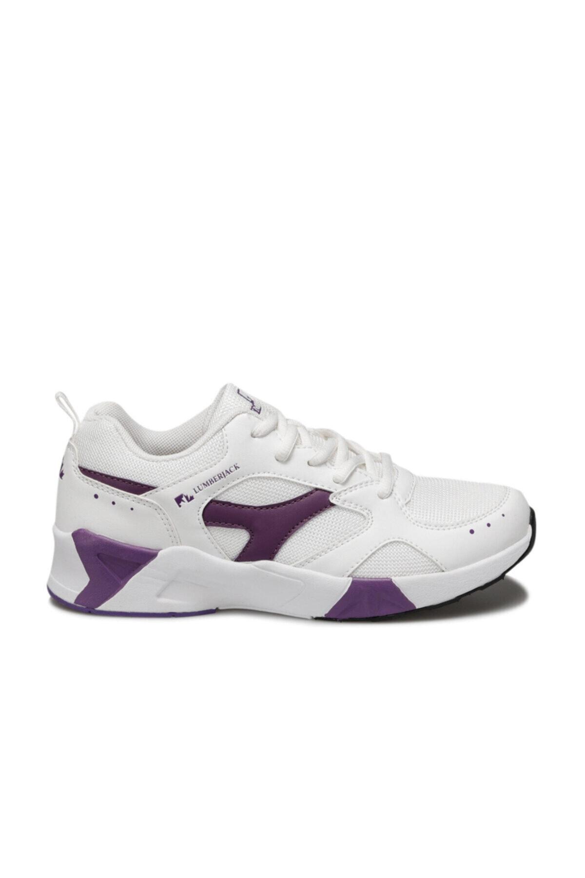 lumberjack Blossom Beyaz Kadın Sneaker Ayakkabı 2