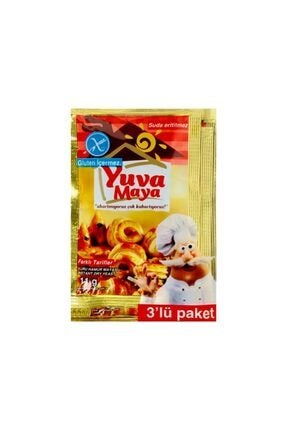YUVA Instant Kuru Ekmek Mayası 3x2 Li Paket