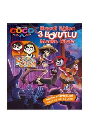 Doğan Egmont Coco Haydi Eğlen 3 Boyutlu Maske Kitabı