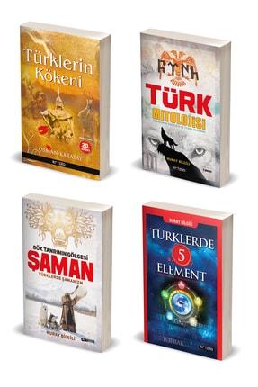 Kripto Basım Yayın Türk Mitolojisi Kitap Seti / 4 Kitap / Nuray Bilgili, Osman Karatay