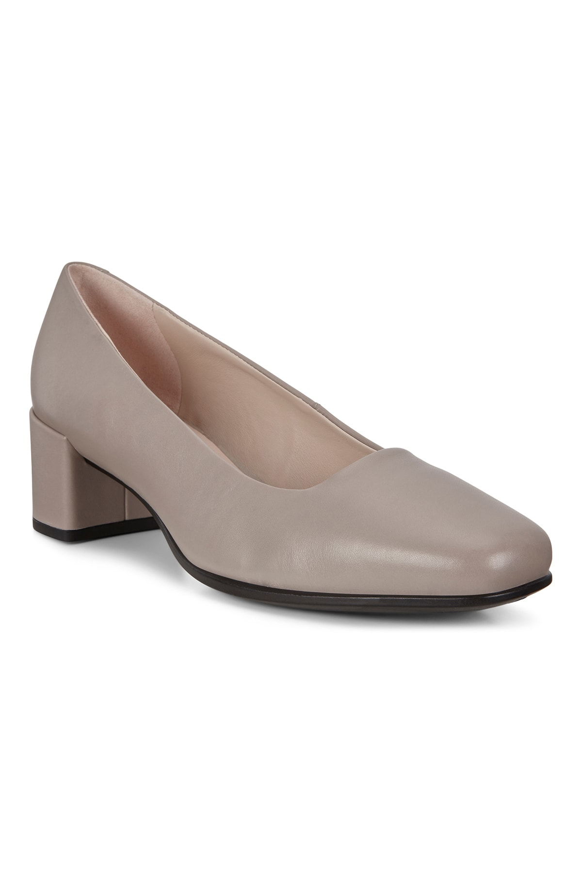 Ecco Kadın Klasik Topuklu Ayakkabı Shape Squared 35 Grey Rose Bej 290503