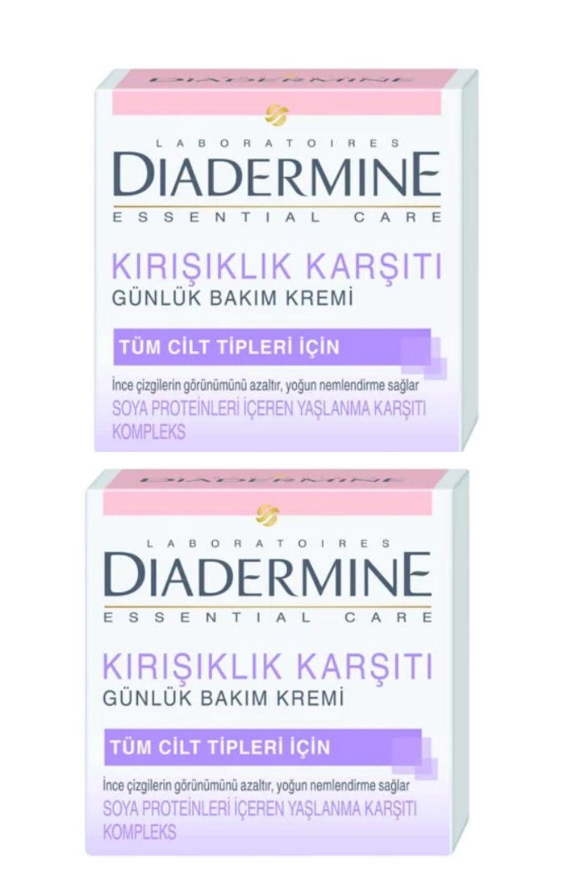 Diadermine Kırışıklık Karşıtı Bakım Kremi 50 ml X 2 Adet Antiaging Cilt Yenileyici Krem 1