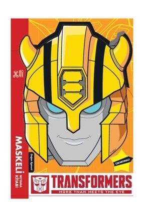Doğan Egmont Yayıncılık Transformers - Maskeli Boyama Kitabı