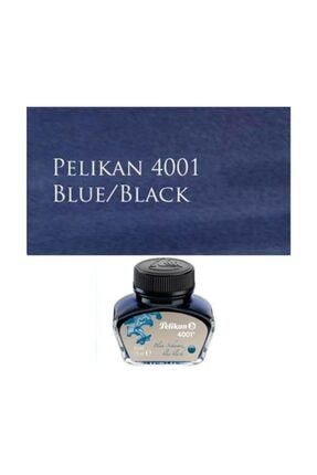 Pelikan 4001 Dolmakalem Mürekkebi 30 ml. MAVİ-SİYAH