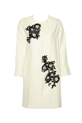 İpekyol Kadın Kırık Beyaz Pardesü IS1190011055
