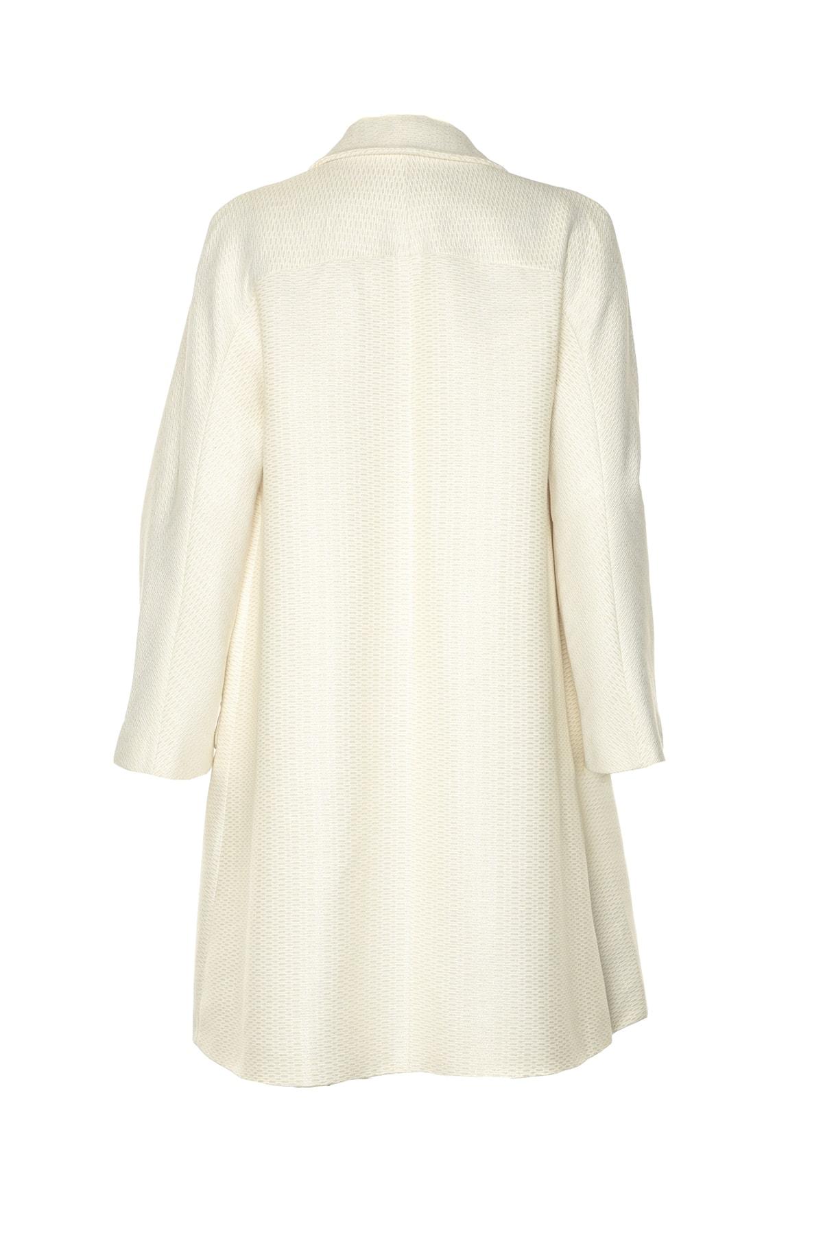 İpekyol Kadın Beyaz Pardesü IS1190011037 2