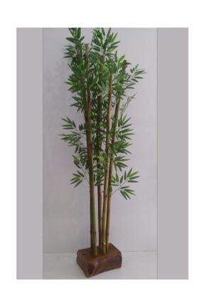Lam'Bamboo Nature Wood Köşe Bambu Saksı