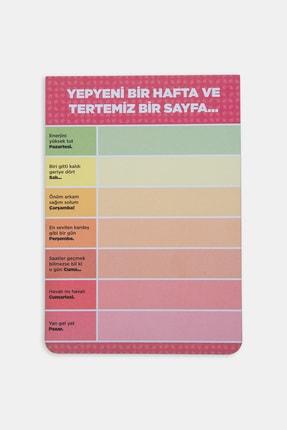 PK Design Günler Konuşuyor Notepadler - Kırmızı