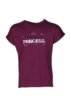 HUMMEL HMLCARLINA   T-SHIRT S/S Mor Kız Çocuk T-Shirt 100580703