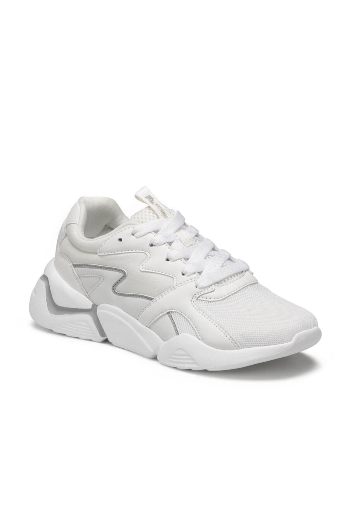 lumberjack Puzzle Beyaz Kadın Sneaker Ayakkabı 1