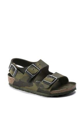 Birkenstock Mılano Kıds Yeşil Sandalet 354 Mılano-K-F