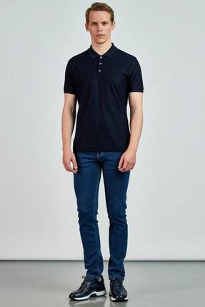 Giovane Gentile Erkek Lacivert T-Shirt LC0651202109