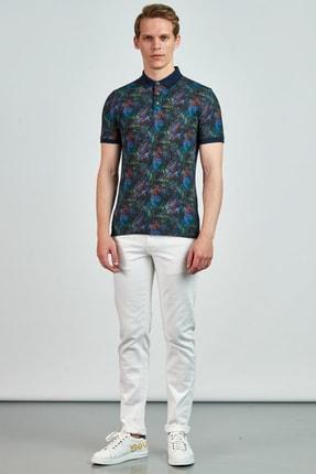 Giovane Gentile Erkek Turkuaz Giovane G. Designers T-Shirt GT0650201888