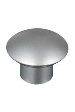 Arwino 5 Adet Mat Krom Mantar Düğme Çocuk Odası Vestiyer Dolap Çekmece Kapak Kulpu