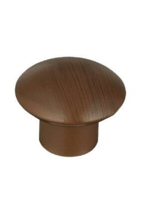 Arwino 5 Adet Mat Ceviz Mantar Düğme Çocuk Odası Vestiyer Dolap Çekmece Kapak Kulpu