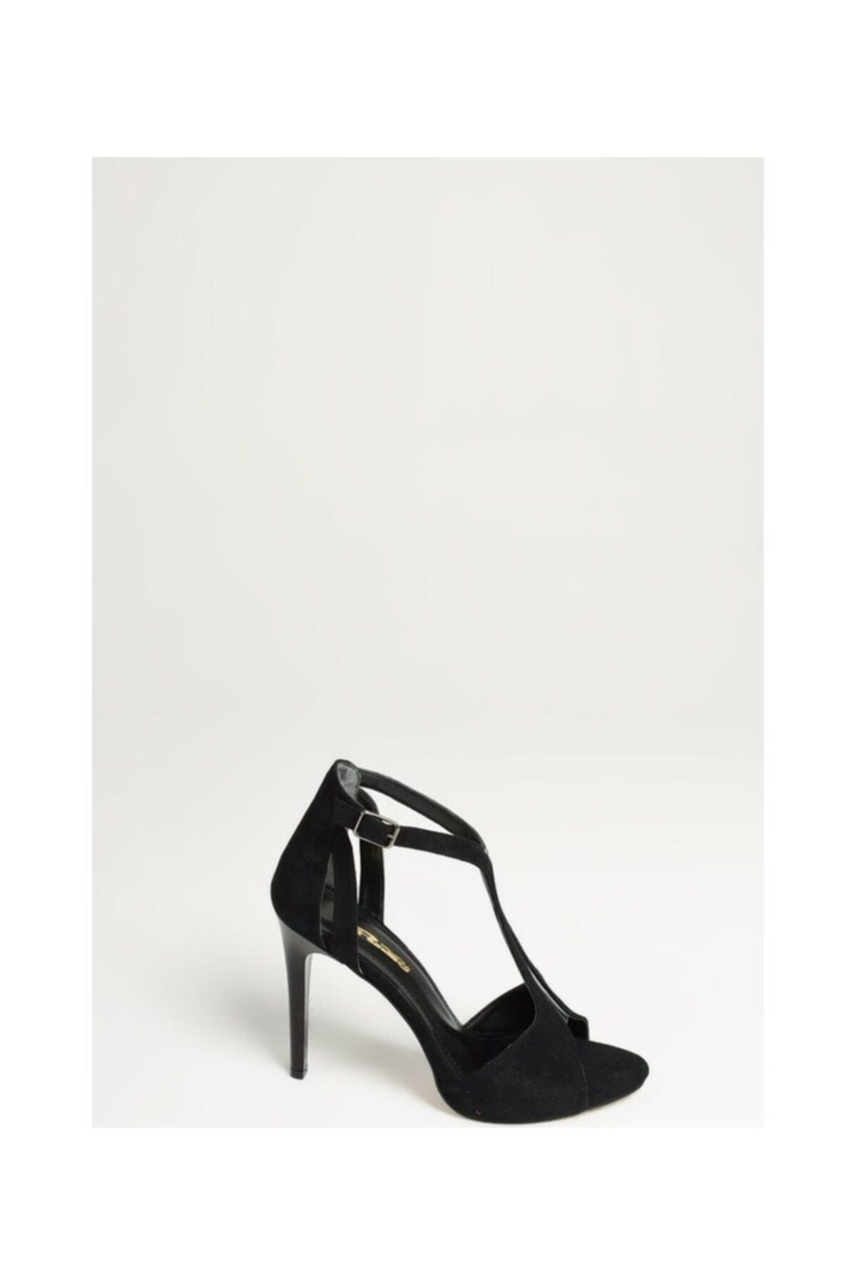 PUNTO Kadın Ayakkabı Siyah 1