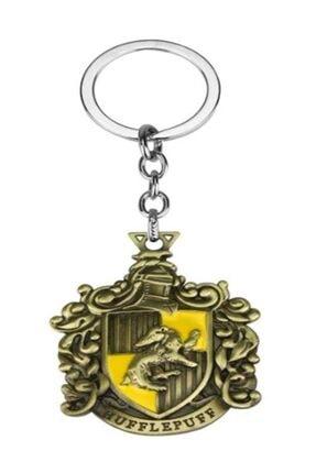 AlpCollection Harry Potter Hufflepuff Hogwarts Metal Orjinal Kutulu Anahtarlık