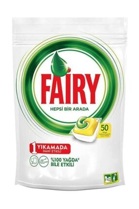 Fairy Bulaşık Makinesi Kapsülü 50'li