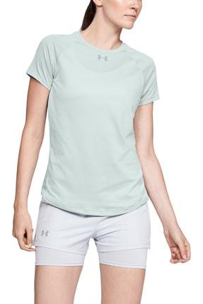 Under Armour Kadın T-Shirt - UA Qualifier  Short Sleeve - 1326504-189