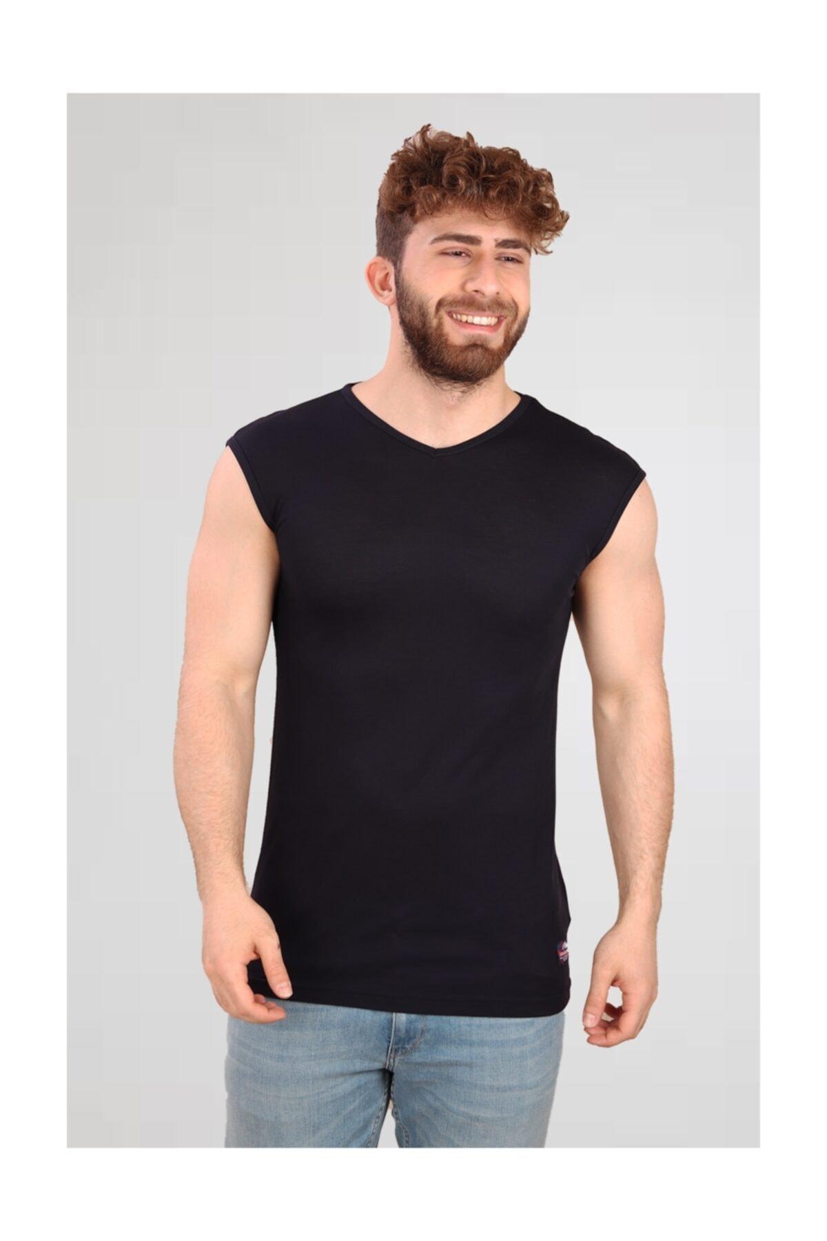 ALEXANDERGARDI Kesik Kol | Kolsuz Erkek T-shirt (e19-p4ag09) 1