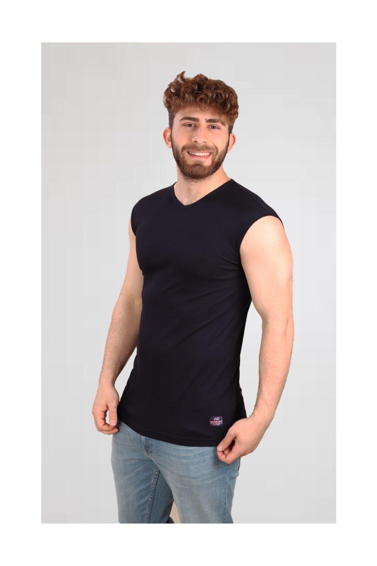 ALEXANDERGARDI Kesik Kol | Kolsuz Erkek T-shirt (e19-p4ag09) 2