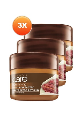 AVON Kakao E Vitamili Yüz Kremi 100 ml Üçlü Set