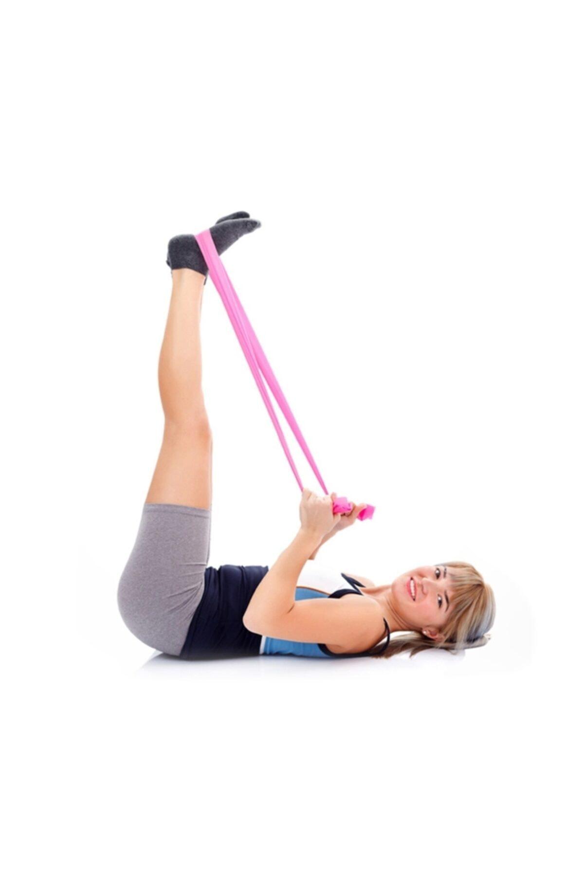 EKPA 3 Lü Pilates Bantı Seti Direnç Hafif Orta Sert 2
