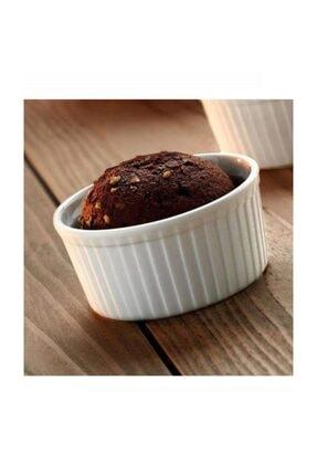 MHK Collection Rolyefli 6 Parça Çikolata Suffle Kabı, Suffle Kek Kalıbı