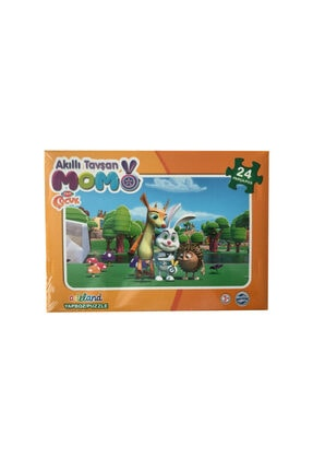 ADELAND Trt Çocuk Akıllı Tavşan Momo 24'lü Yapboz
