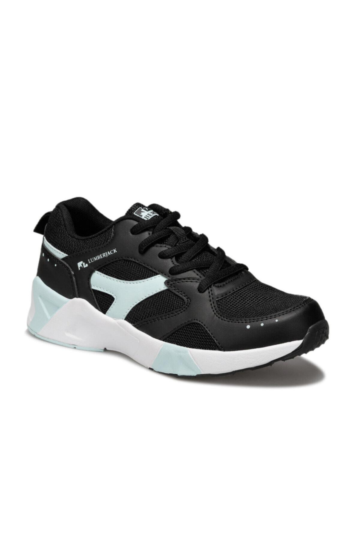 lumberjack Blossom Siyah Kadın Sneaker Ayakkabı 1