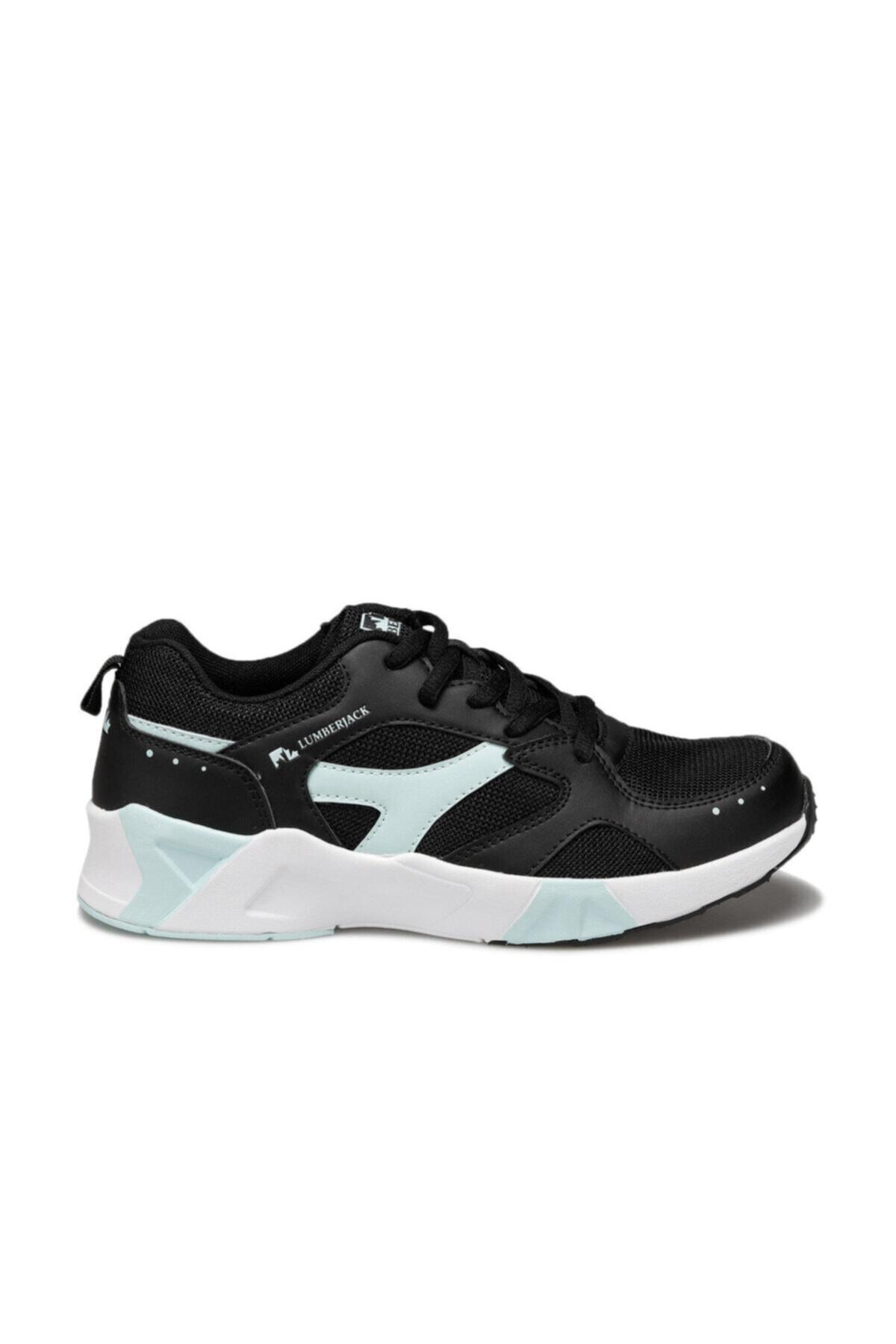 lumberjack Blossom Siyah Kadın Sneaker Ayakkabı 2