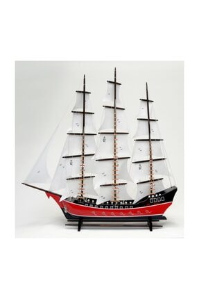 OKYANUS TEKNE Bez Yelkenli Kalyon Gemi Modeli - Tekne Maketi