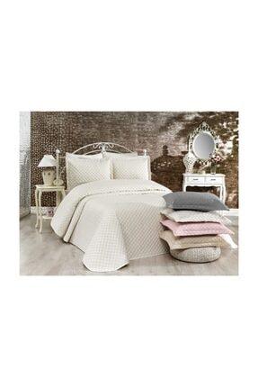 İpekçe Home Exculisive Nakışlı Yatak Örtüsü Ç.k Nelly Krem-krem