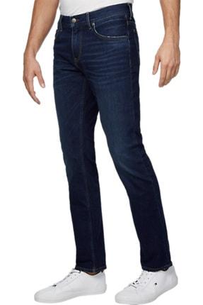 Tommy Hilfiger Erkek Slim Bleecker Str Bowie Blue Jeans MW0MW12664