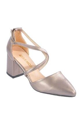 Maje 1901 Platin Kadın Topuklu Ayakkabı