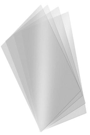 ÜMRANİYE HOBİ Asetat Kağıdı Şeffaf Transparan Ince 250 Micron A3 - 5 Adet