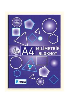 Etika Milimetrik Teknik Resim Bloknot A4 Mavi 30 Yaprak