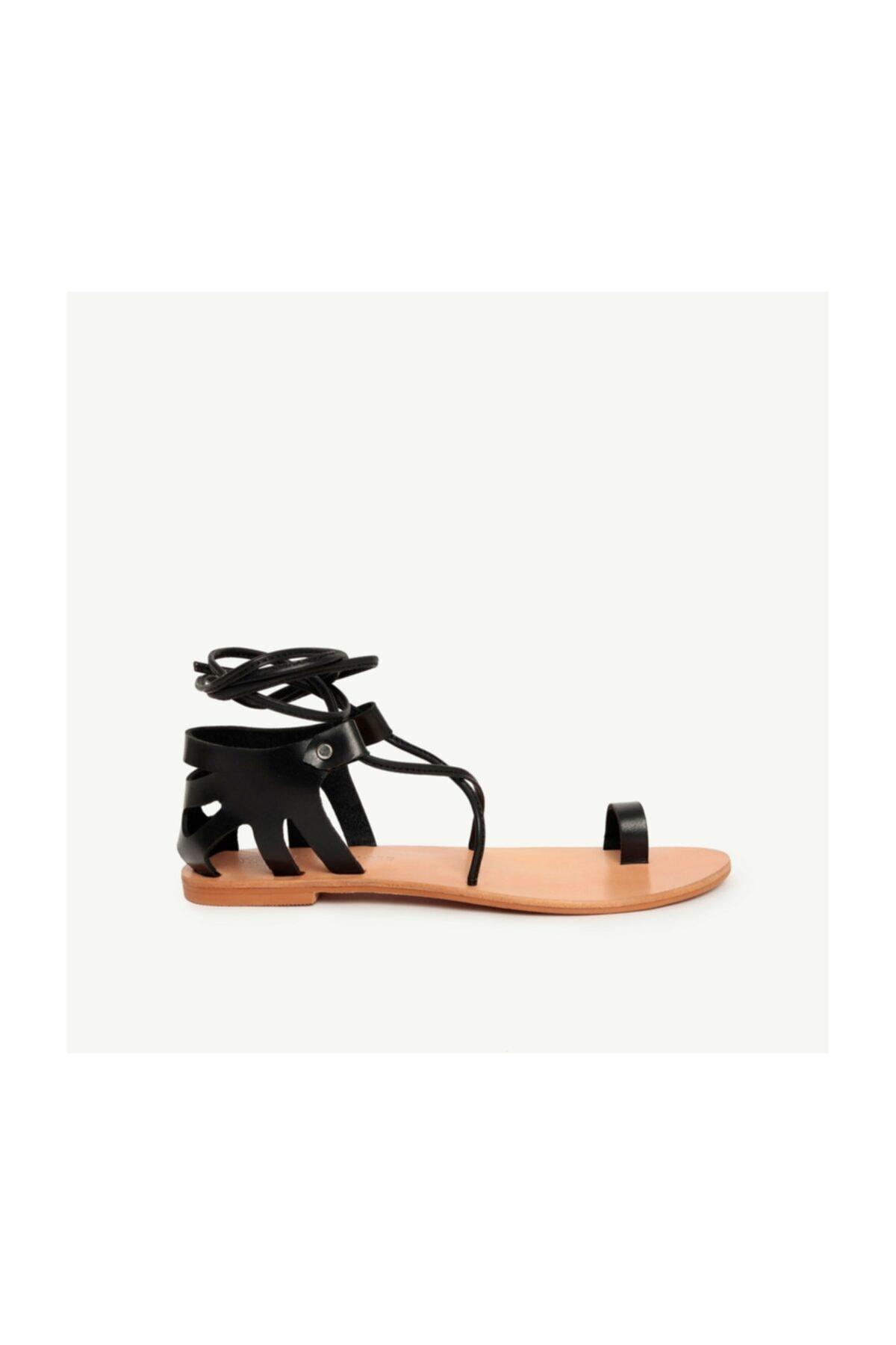Yargıcı Deri Sandalet 1