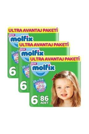 Molfix 6 Beden 258 Adet Bebek Bezi Ultra Avantaj Paketi